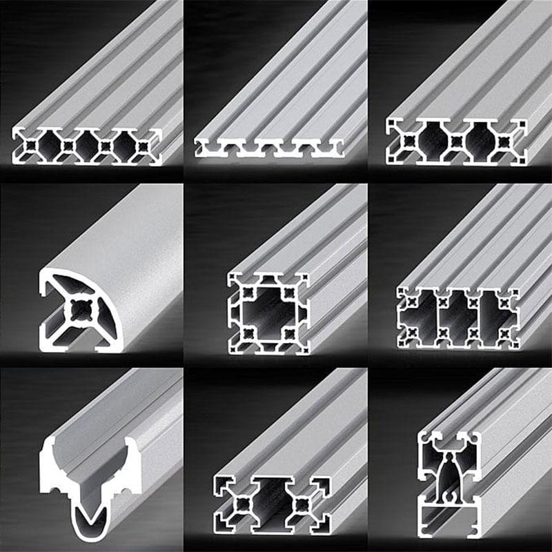 Perfiles de aluminio bajo diseño